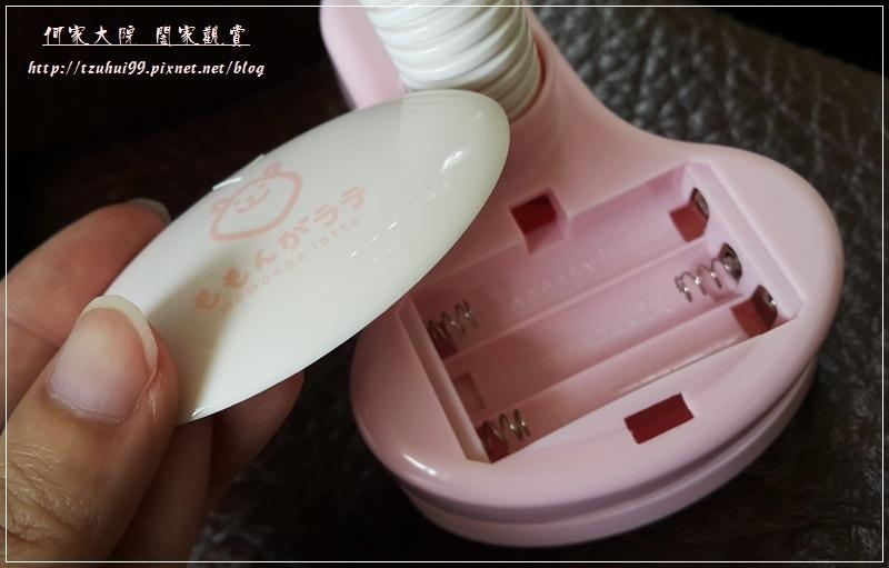 Momonga.Latte日本夾式電風扇 09
