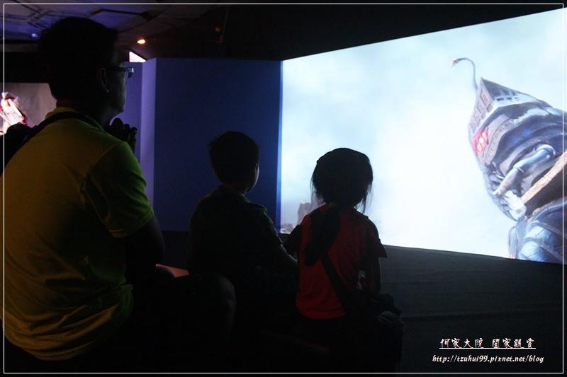 怪獸襲來.台北展覽(花博夢想館) 28.JPG