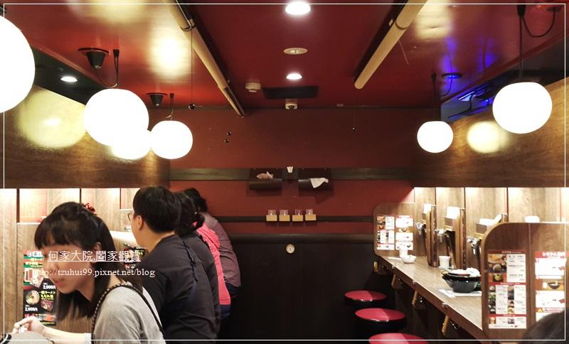 日本必吃美食拉麵一蘭拉麵(大阪梅田阪急東通店 06.jpg