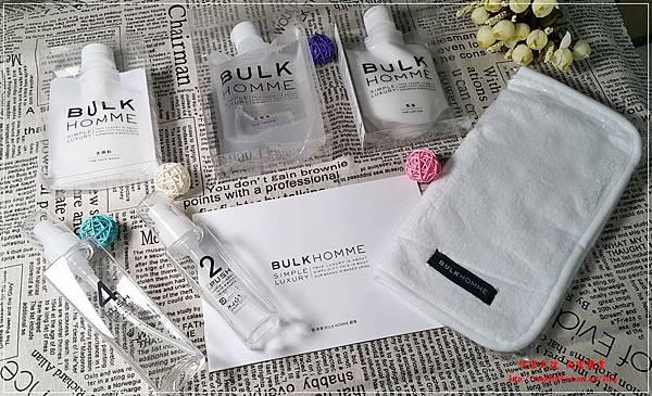 本客BULK HOMME男士專用保養品(潔顏霜+化妝水+乳液) 02.jpg