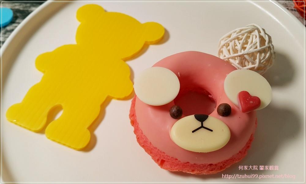 (宅配美食甜點)Chan'to Patisserie 香豆手作甜點,小熊甜甜圈磅蛋糕 09.jpg