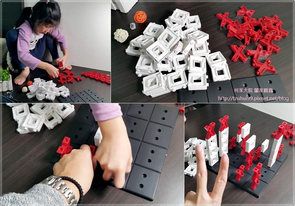 (好玩桌遊分享)美國瑪莉莎Melissa & Doug遊戲-3D戰略桌遊,圈圈疊叉叉 12.jpg