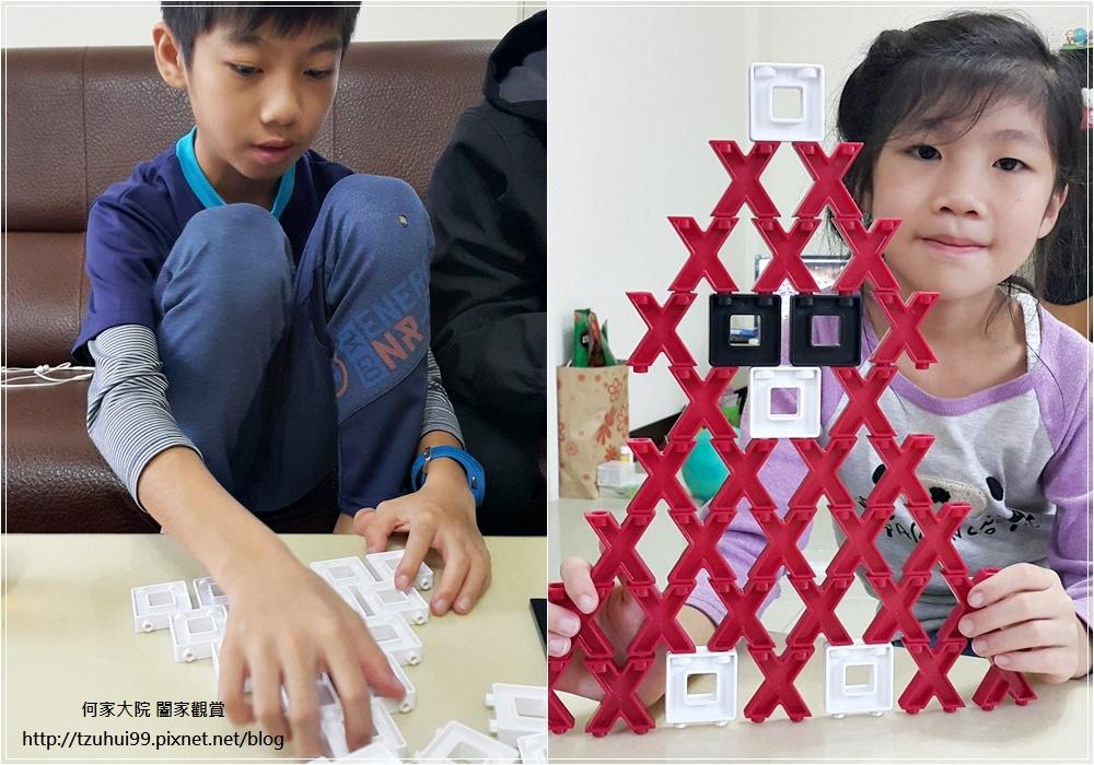 (好玩桌遊分享)美國瑪莉莎Melissa & Doug遊戲-3D戰略桌遊,圈圈疊叉叉 17.jpg