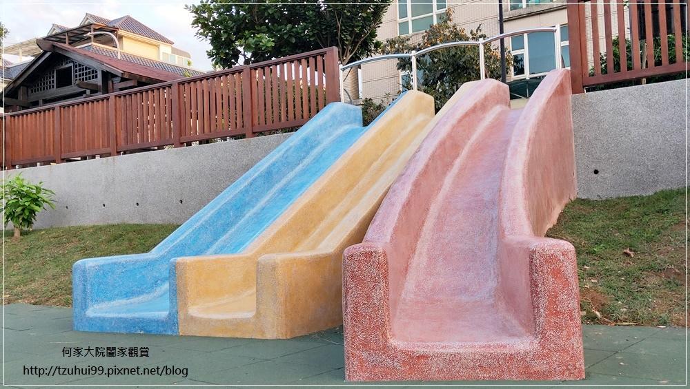 林口東湖公園(彩色磨石子溜滑梯+大象水幫浦+全台第一座旋轉飛行)林口衛星&鄰里公園 11.jpg