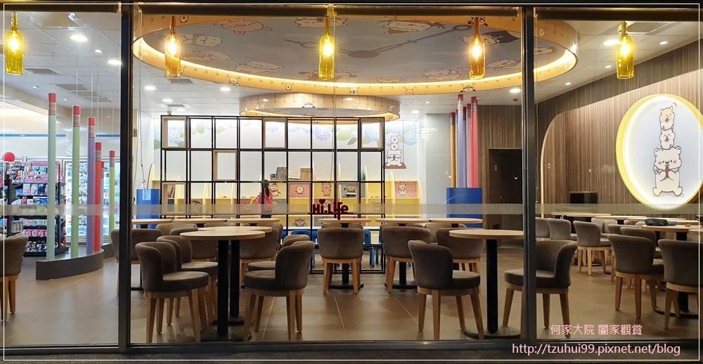 萊爾富便利商店(林口童樂店)內有用餐區與兒童學習體驗角 05.jpg