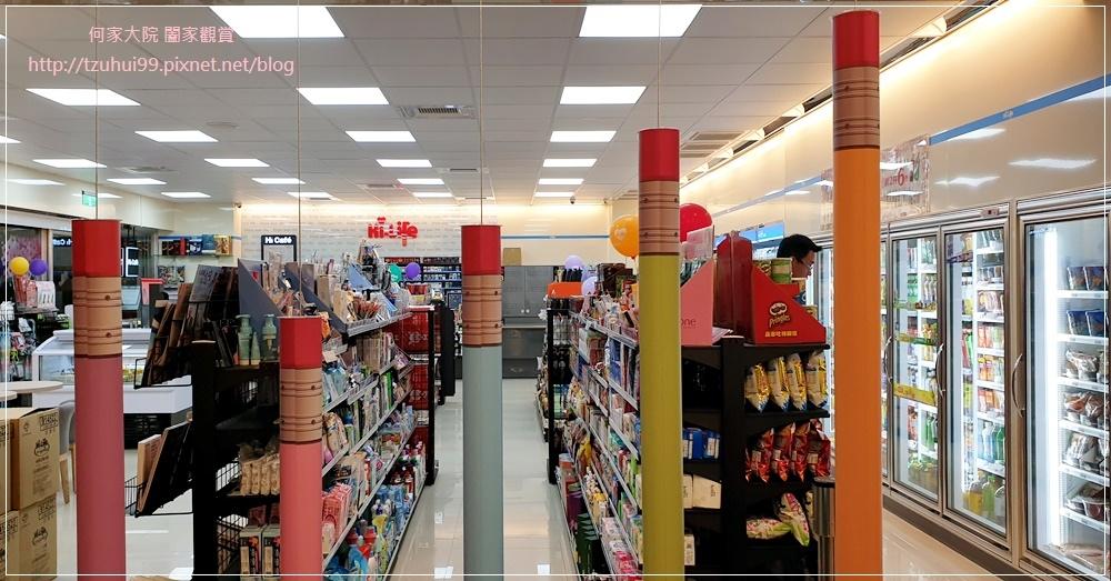萊爾富便利商店(林口童樂店)內有用餐區與兒童學習體驗角 07.jpg