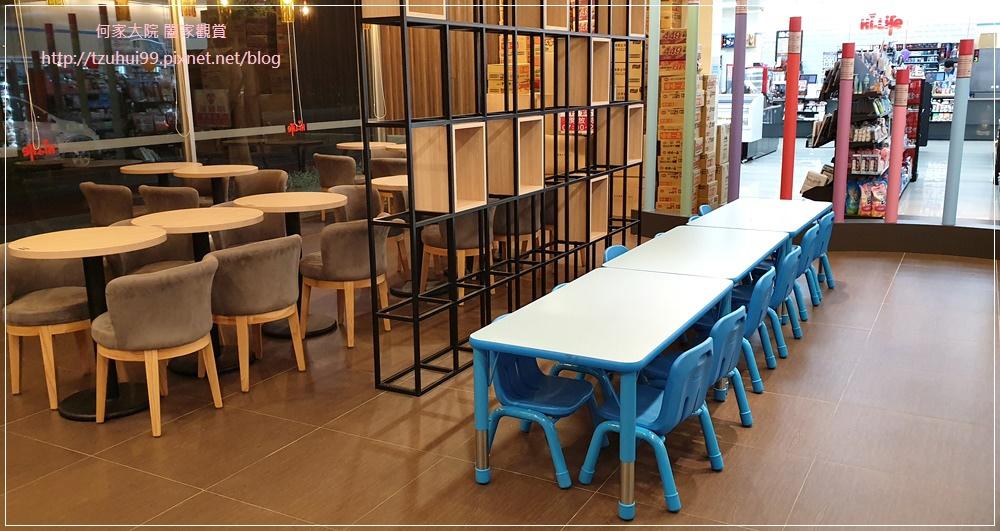 萊爾富便利商店(林口童樂店)內有用餐區與兒童學習體驗角 13.jpg