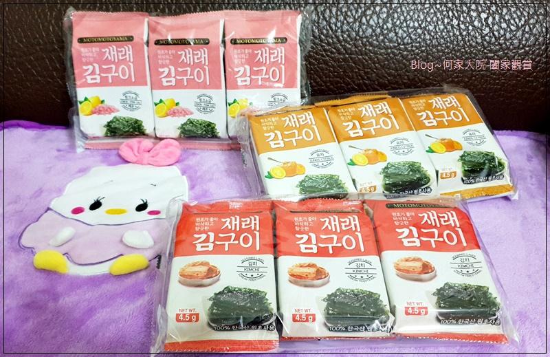MOTOMOTOYAMA韓式海苔(朝鮮海苔泡菜風味+檸檬玫瑰鹽風味+柚香風味) 01.jpg