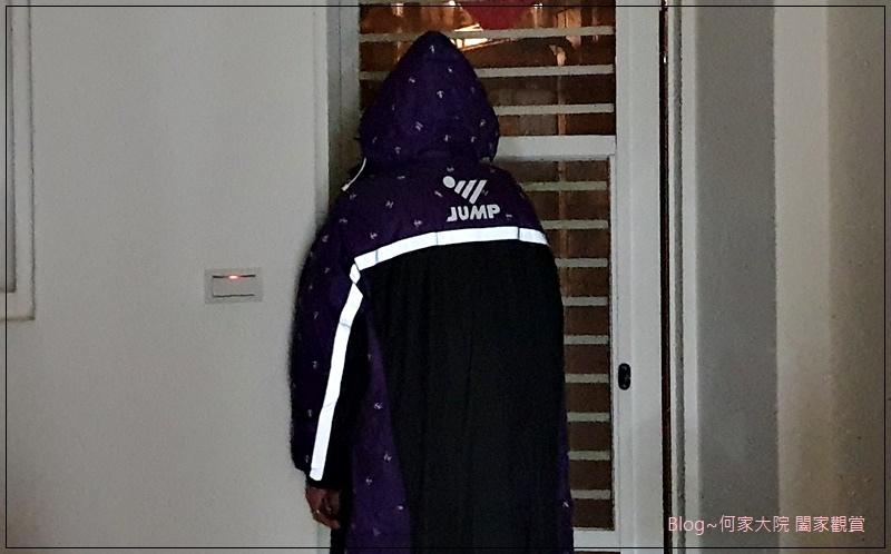 JUMP將門 全方位反光一件式連身風雨衣 14