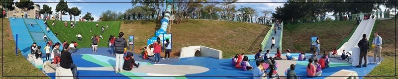 林口足夢運動公園(兒童足球場+超長溜滑梯+攀岩場+攀爬網)滯洪池公園 08-1.jpg