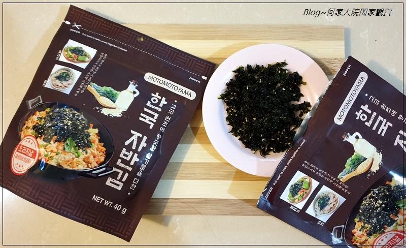 MOTOMOTOYAMA韓國海苔酥醬燒風味+山葵風味(拌飯拌麵+百搭料理小幫手+海苔酥推薦) 02.jpg