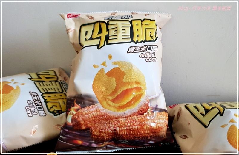 卡迪那四重脆烤玉米口味玉米點心(聯華食品新品上市) 02.jpg