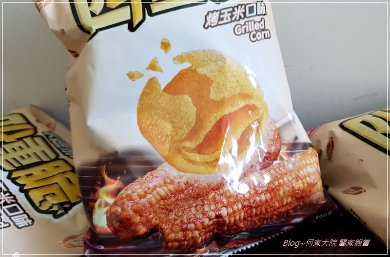 卡迪那四重脆烤玉米口味玉米點心(聯華食品新品上市) 03.jpg