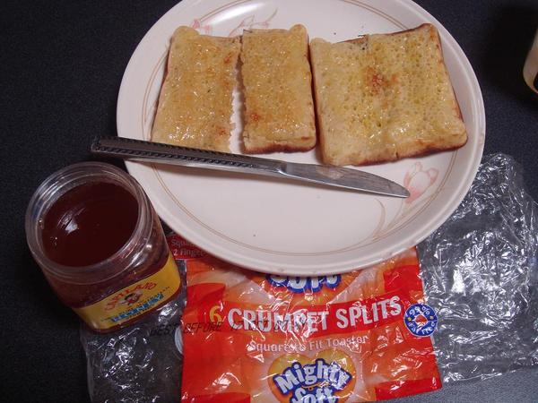 叫Crumpet的麵包