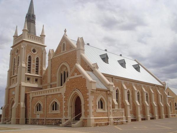 美麗的基督教教堂