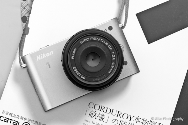 Nikon 1 J1 + DA40mm Limited