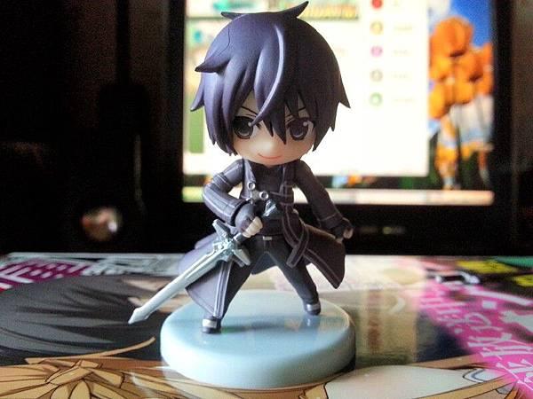 SAO刀劍神域 桐人 黑之騎士Ver. にいてんご模型