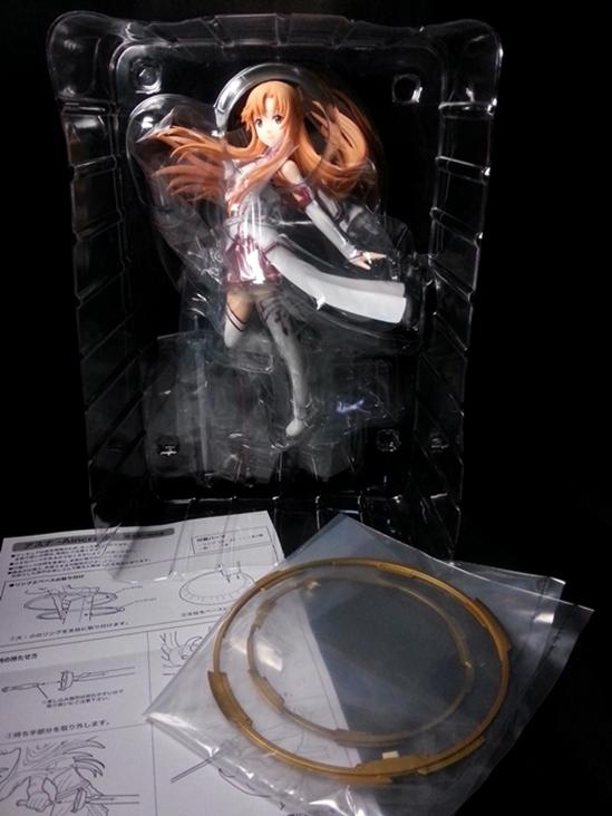 壽屋 刀劍神域 血盟騎士團副團長 閃光的亞絲娜07.jpg