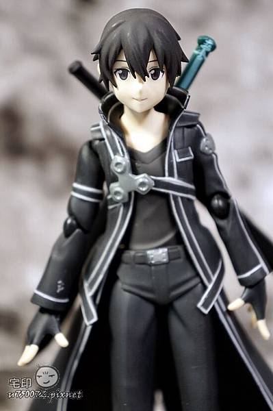 Max Factory 刀劍神域 桐人 figma 黑色劍士 SAO 20.jpg