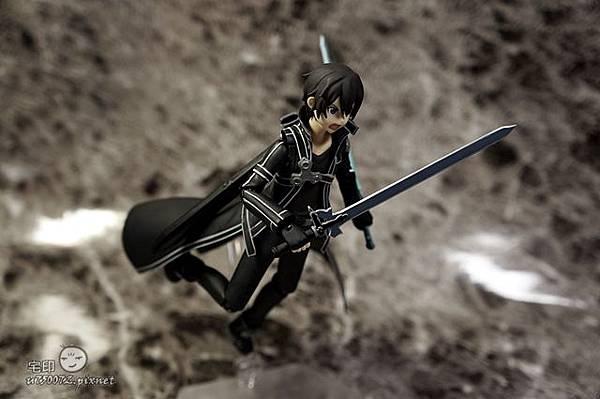 Max Factory 刀劍神域 桐人 figma 黑色劍士 SAO 32.jpg