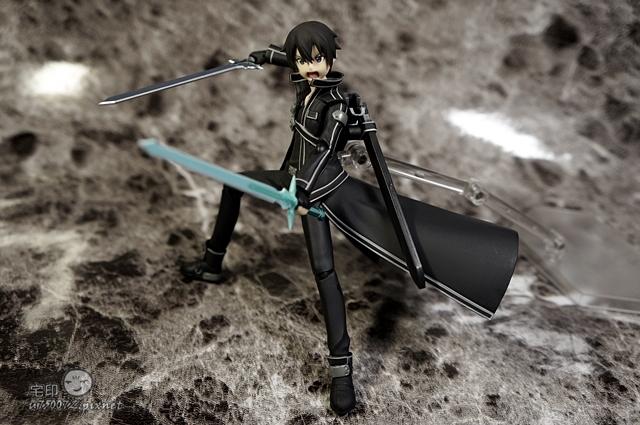 Max Factory 刀劍神域 桐人 figma 黑色劍士 SAO 41.jpg