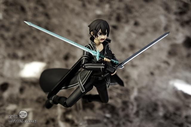 Max Factory 刀劍神域 桐人 figma 黑色劍士 SAO 47.jpg