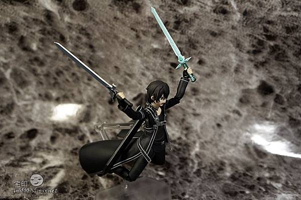Max Factory 刀劍神域 桐人 figma 黑色劍士 SAO 50.jpg