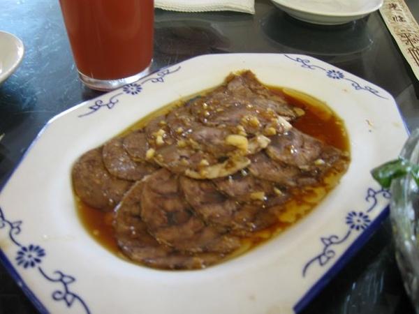 老北京炸醬麵-醬牛肉