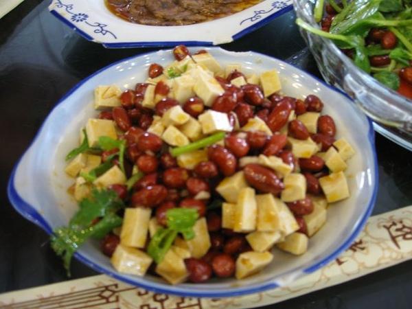 老北京炸醬麵-花生豆干涼拌