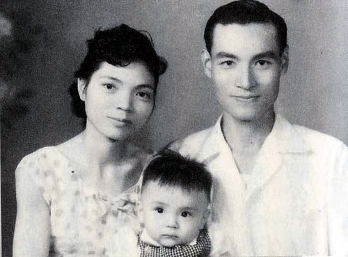 英文老師柯旗化與其妻蔡阿李