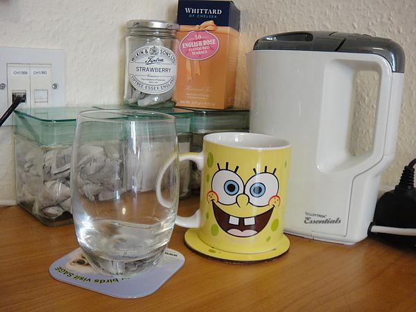 電水壺(售出) 後面綠蓋子的茶罐3個1磅(茶包還有剩不嫌棄的話就一起送了)