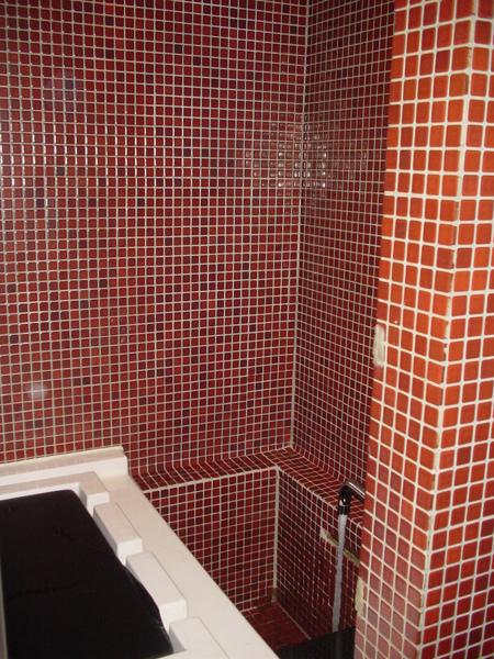 維琪浴(先放水,上面有水柱會吸水沖灌下來)