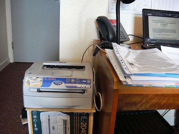 brother雷射印表機含全新碳粉補充包40磅