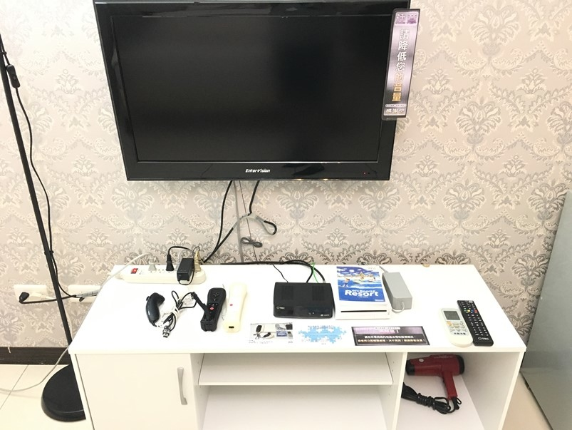 [Q摩登]一中街住宿提供PS4、WII免費玩
