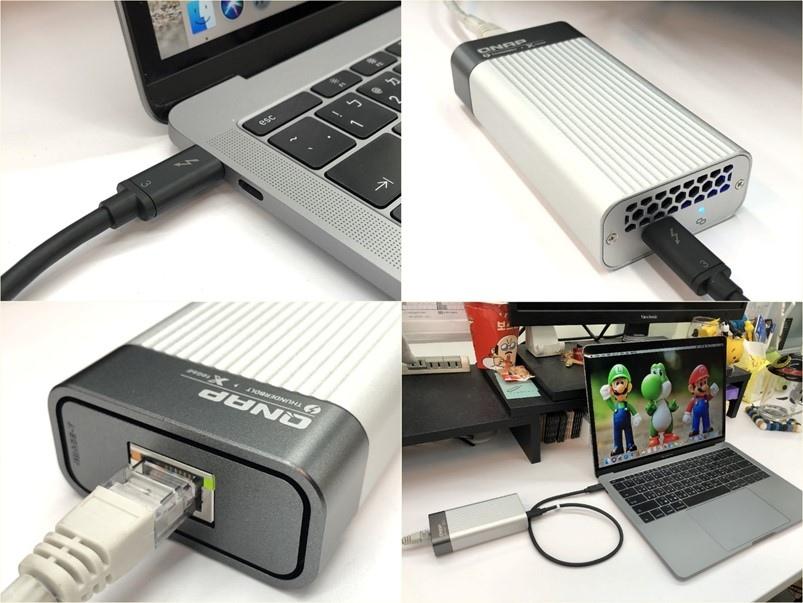 【開箱】QNAP TVS-x472XT NAS 效能再提昇,Thunderbolt 3與10GbE高速傳輸,存取遠端檔案就像在本...