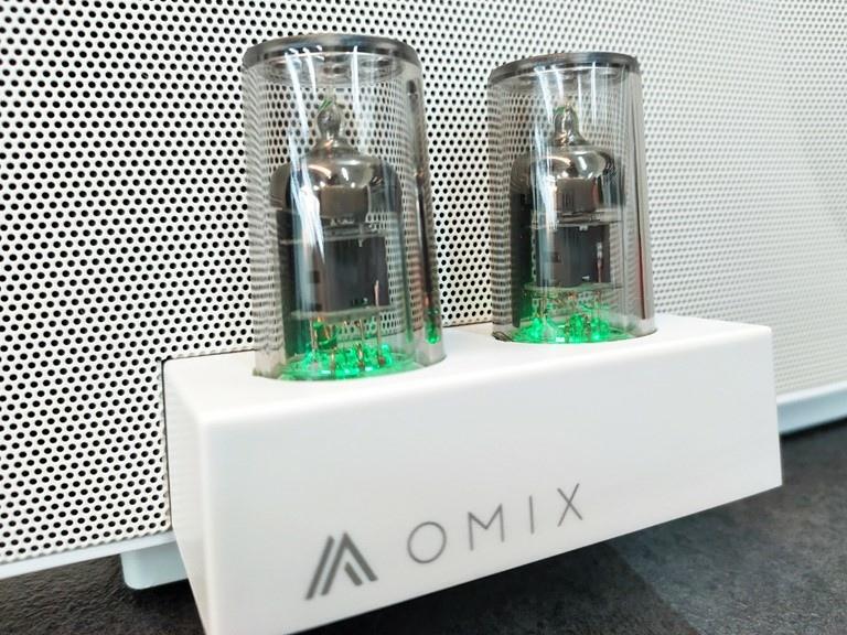 【開箱】OMIX VAC-MX全音域環繞雙真空管重低音喇叭,聲音圓潤低音更厚實