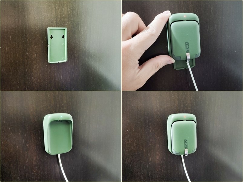 【開箱】TAU超輕巧行動電源,磁吸式鑰匙圈設計,內建三合一接頭
