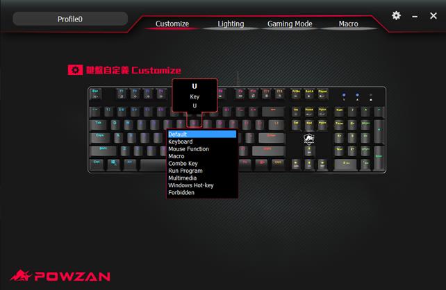 【開箱】POWZAN CK650 Stardust RGB光學機械遊戲鍵盤,每顆按鍵都能自定義組合鍵、巨集