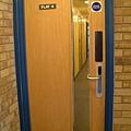 走廊的門口