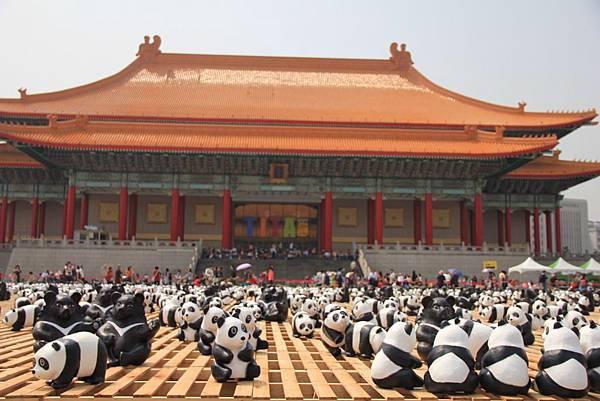 1600隻紙熊貓中正紀念堂與大家見面 048 (1024x683).jpg