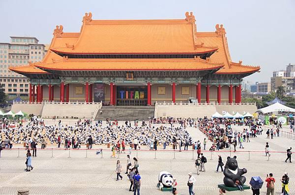 1600隻紙熊貓中正紀念堂與大家見面 103 (1024x675).jpg