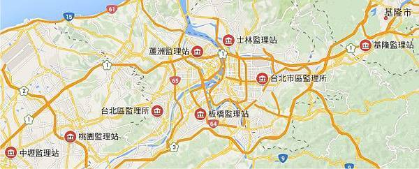 大台北與桃園市監理站位置圖.jpg