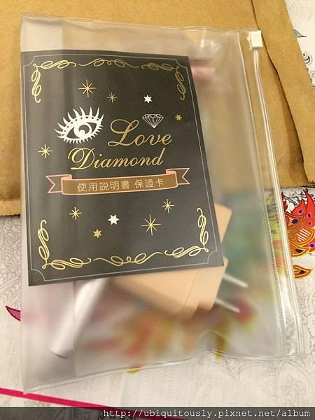 20140312~*美妝小物,LOVE DIAMOND燙睫毛器*~
