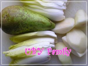 梨子風味比利時小白菜
