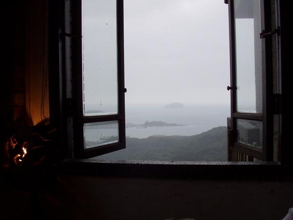 天空之城茶樓窗景