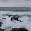 好不容易捕捉到的浪