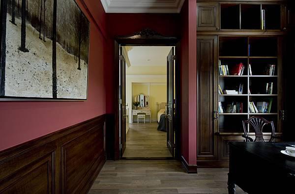 新店08-書房看向主臥室