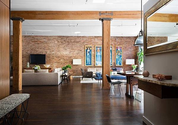 Brick-Wall-Studio-Apartment-by-Stephan-JAKLITSCH-GARDNER-open-plan-exposed-beam-living-dining.jpeg