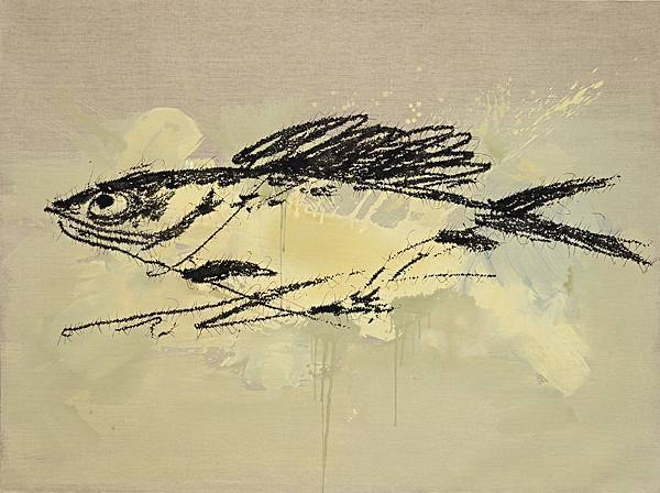 葉永青_Ye_Yongqing_魚_Fish150x200_cm _2014_布面丙烯_Acrylic_on_Canvas (1)