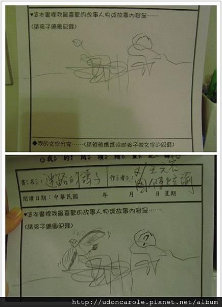 迷路的鴿子繪圖補充對照圖